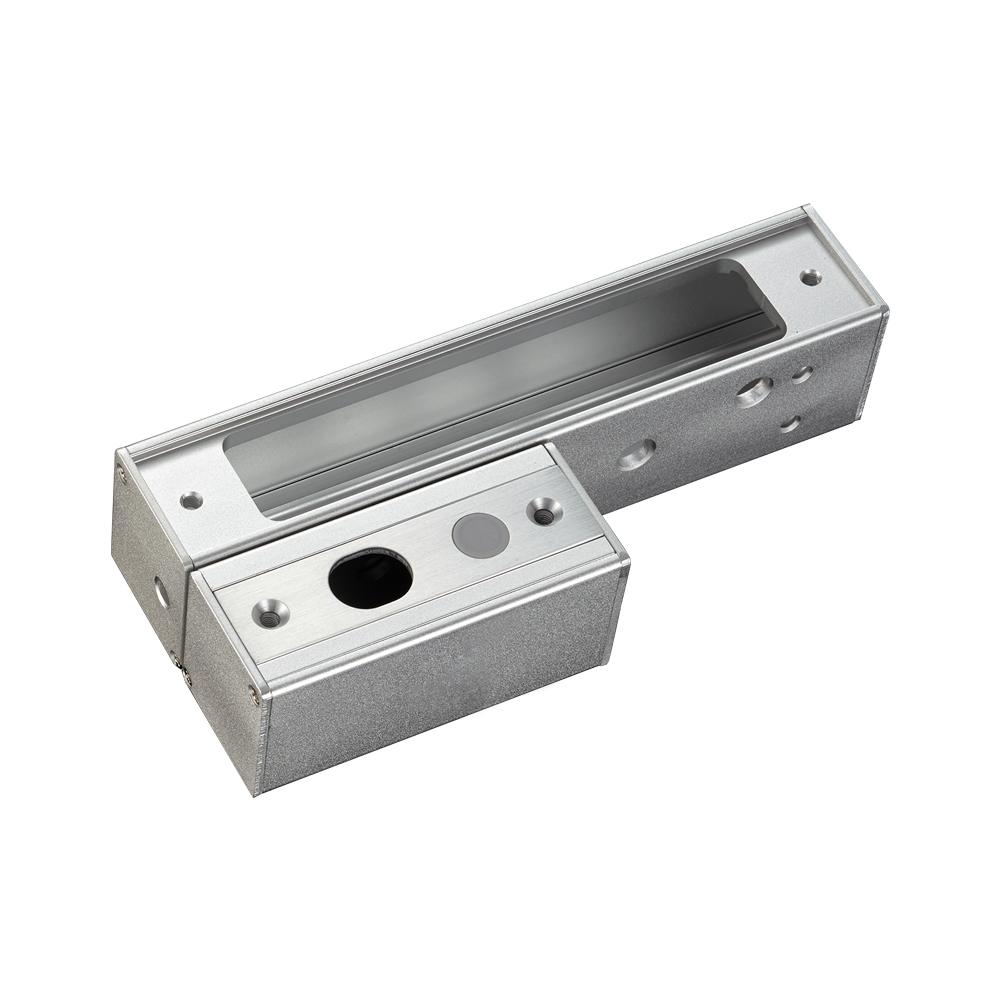 内开式窄框门电插锁支架