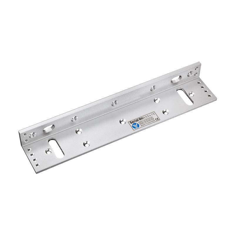 L型 外开式多功能单门磁力锁专用支架