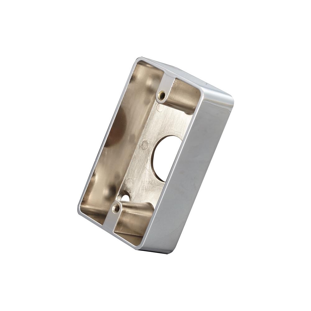 长方形锌合金底盒
